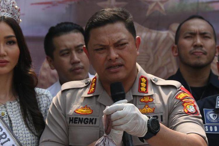 Kapolres Metro Jakarta Barat Kombes Pol Hengki Haryadi