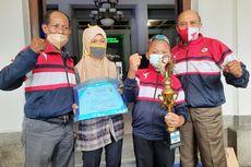 Kisah Ipul Siswa SD Kayuh Sepeda 20 Km Ditemani Ibu untuk Bertanding Karate, Pulang Bawa Trofi Juara