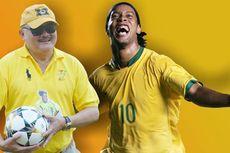 Alex Noerdin Temui Ronaldinho ke Brasil