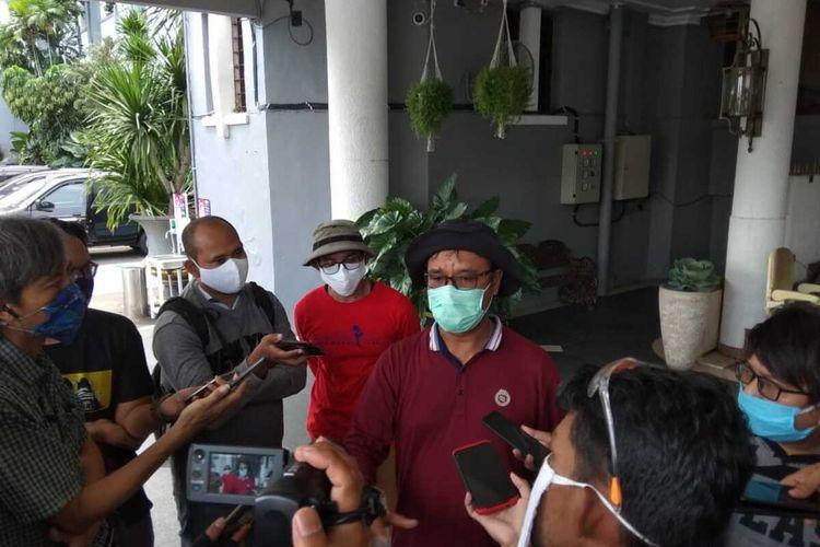 Wakil Koordinator Hubungan Masyarakat Gugus Tugas Percepatan Penanganan Covid-19 Surabaya M Fikser