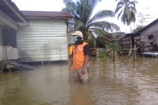 Banjir Kiriman Malaysia Rendam 9 Kecamatan di Nunukan, BPBD Tetapkan Status Darurat Bencana
