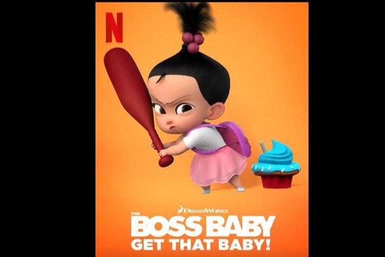 Poster film interaktif Boss Baby: Get That Baby (2020)