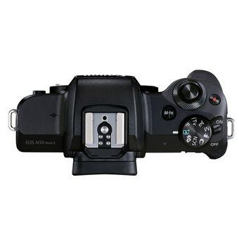 Top plate dari Canon EOS M50 Mark II