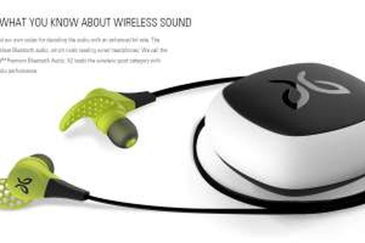 Salah satu produk earphone keluaran Jaybird.