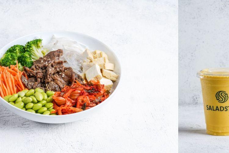 SaladStop! memperkenalkan menu terbarunya yang terinspirasi kuliner Korea.