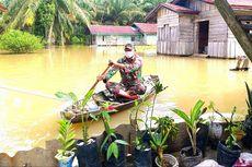 BPBD Riau: Waspadai Banjir, Longsor, dan Covid-19