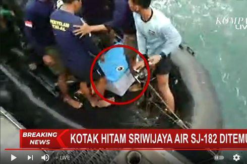 Mengenal FDR, Isi Kotak Hitam Pesawat Sriwijaya Air SJ 182 yang Baru Ditemukan