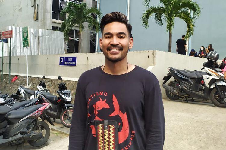Robby Purba saat ditemui di kawasan Tendean, Jakarta Selatan, Senin (11/11/2019).