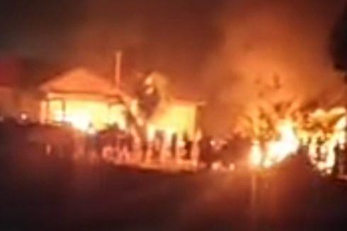 Mapolsek Candipuro, Lampung, Dibakar, 8 Orang Ditangkap