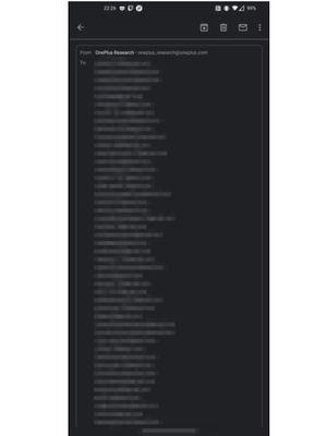 Ratusan alamat email pengguna ponsel OnePlus bocor