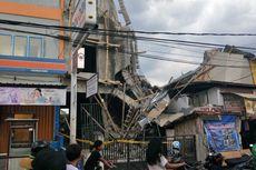 Tak Sesuai IMB, Pemilik Bangunan yang Roboh di Matraman Tambah Satu Lantai