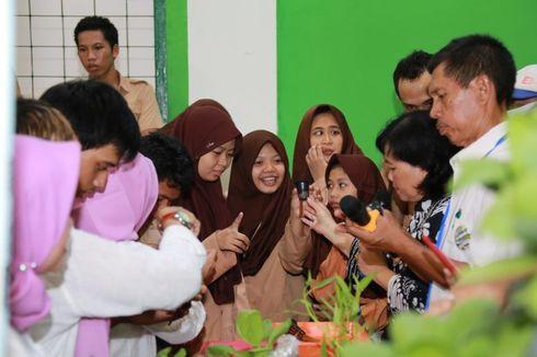 IWK UI Kenalkan Urban Farming ke Siswa SLB Nusantara Depok