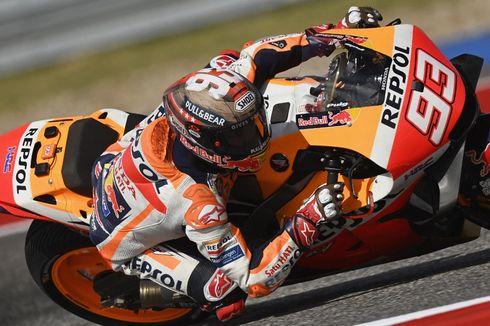 Sumbang Podium Ke-450 untuk Honda, Marquez Kejar Rekor Pedrosa