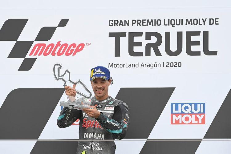 Franco Morbidelli mulai incar gelar juara dunia. (Photo by PIERRE-PHILIPPE MARCOU / AFP)