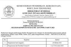 Jadwal Terbaru Seleksi PPPK Guru Tahap 2, Dibuka 1 November 2021