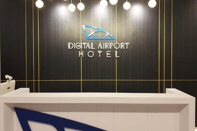 Lobi Digital Airport Hotel.
