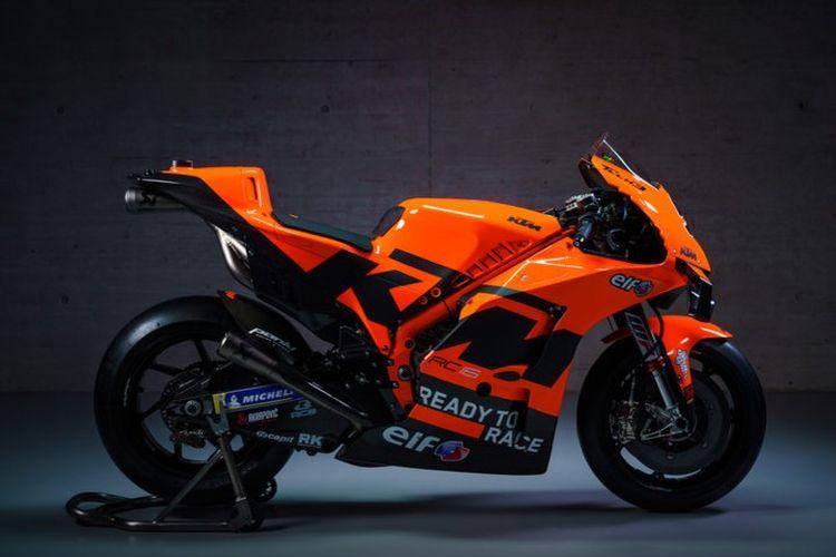 Livery tim Tech3 KTM 2021