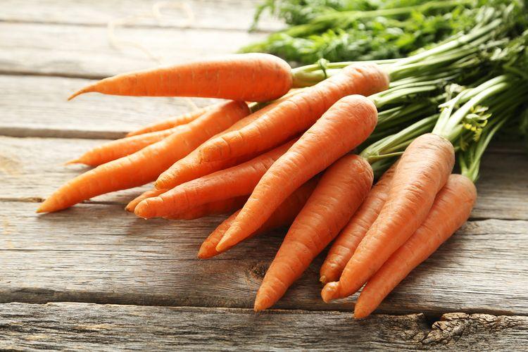 Ilustrasi wortel.