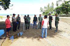 Petugas BKSDA Sisir Sungai Pasca-penangkapan Anak Buaya di Ambon