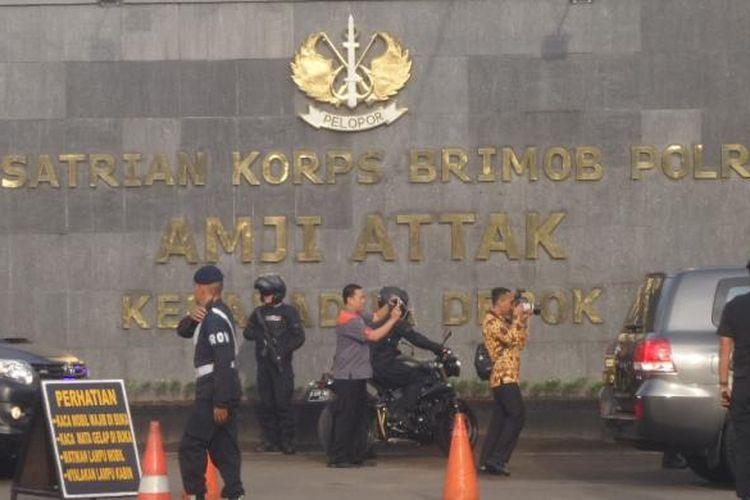 Mako Brimob Kelapa Dua, Depok, Senin (31/10/2016).