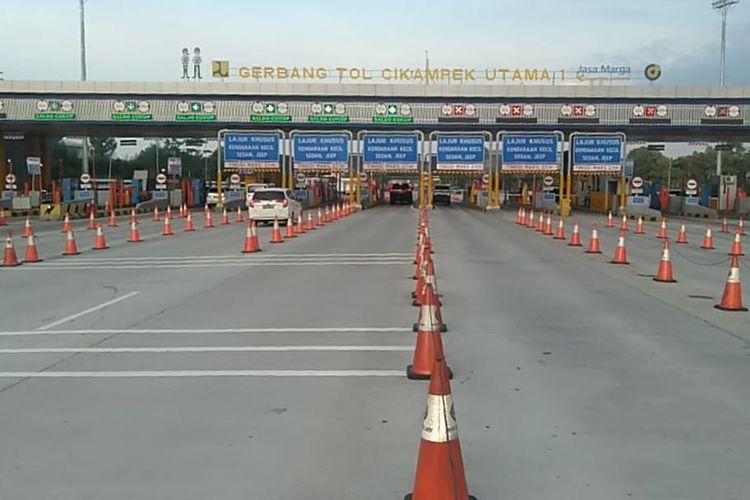 Gerbang Tol (GT) Cikampek Utama 1.