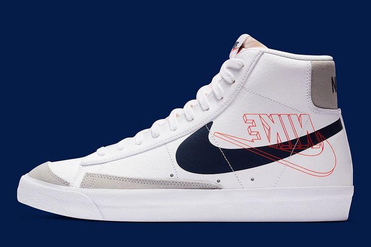 Seri klasik Nike Blazer Mid ?77