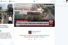 Twitter Moments Kumpulkan Kicauan dan Foto Ledakan Bom Sarinah