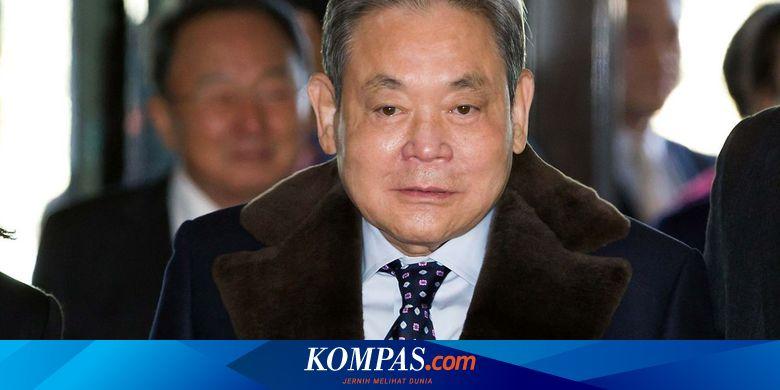 Bos Samsung Lee Kun-hee Meninggal Dunia - Tekno Ko