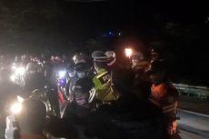 Hingga Dini Hari, Rombongan Pemudik Motor Berkali-kali Coba Terobos Penyekatan di Gentong