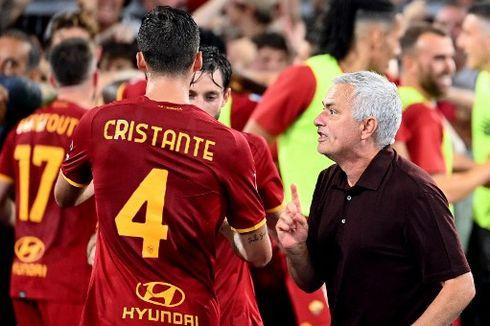 Hasil Liga Italia, AS Roma Menang Dramatis pada Laga Ke-1.000 Mourinho