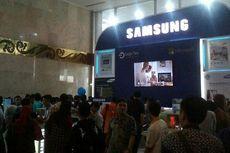 Booth Samsung di Indocomtech Banjir Bonus dan Cashback