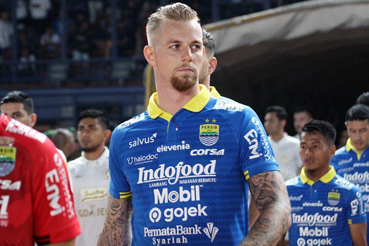 Penyerang Persib Bandung, Kevin van Kippersluis.