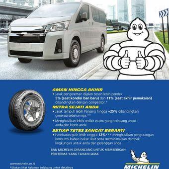 Michelin Agilis 3  ban baru untuk kendaraan komersial
