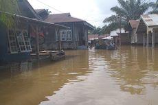 Banjir di Kampar Riau Tak Kunjung Surut, Dapur Umum Ditambah
