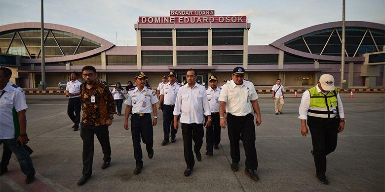 Bandar Udara Domine Eduard Osok di Sorong.  (Sumber Foto: BKIP KEMENHUB)