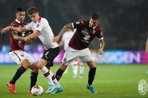 6 Catatan Statistik Menarik dari Laga AC Milan Vs Torino