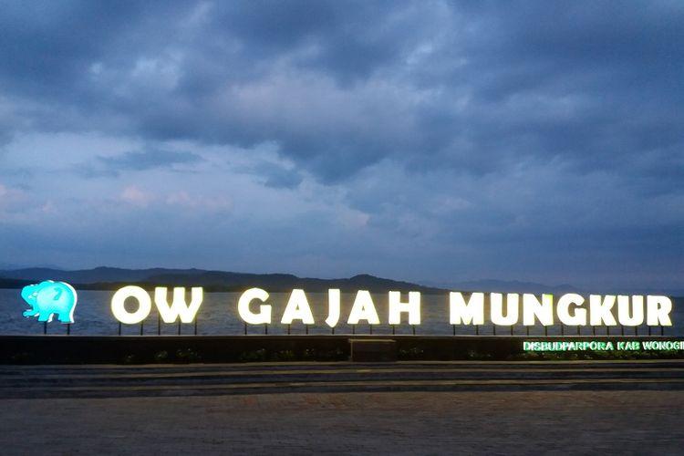 Objek Wisata Waduk Gajah Mungkur salah satu wisata terkenal di Wonogiri