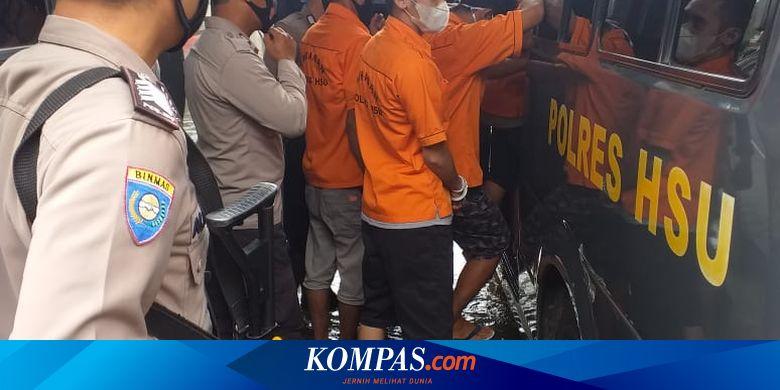 INDX Polres HSU Kalsel Kebanjiran, 11 Tahanan Dititipkan ke Lapas Amuntai