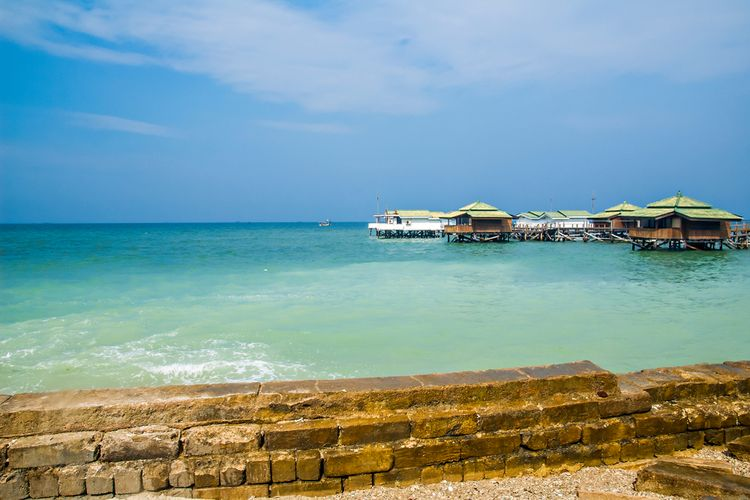 Pemandangan di Pulau Bidadari