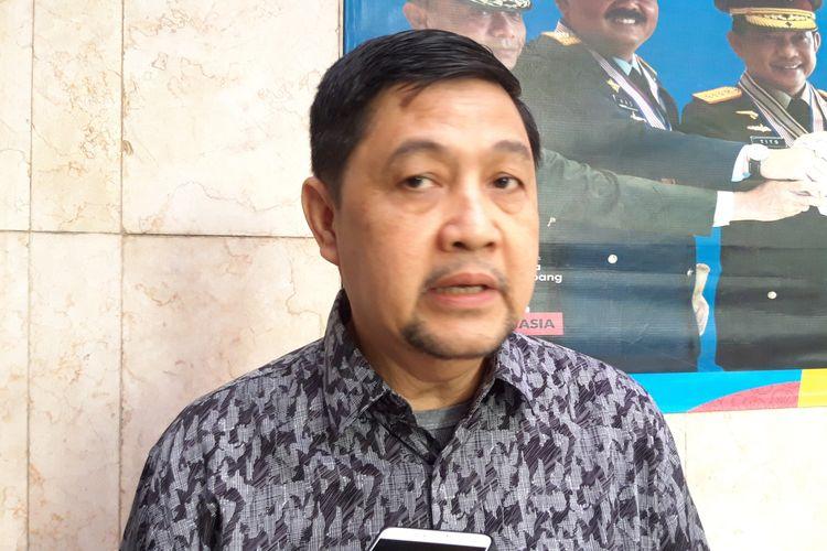 Kuasa Hukum Mantan Kapolda Metro Jaya Sofyan Jacob, Ahmad Yani, di Polda Metro Jaya, Senin (10/6/2019)