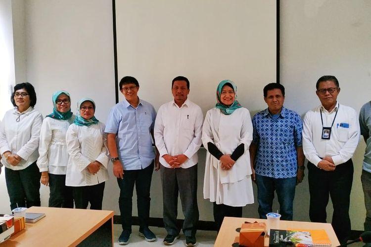 LLDikti Wilayah III menggelar pertemuan dengan media membahas tema Arah Mutu Kelembagaan LLDikti Wilayah III di Gedung LLDikti, Jakarta (8/7/2019).