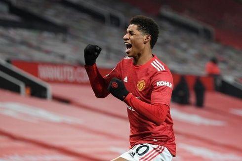 Hasil Man United Vs Wolves, Gol Dramatis Rashford Bawa Setan Merah ke Peringkat Kedua