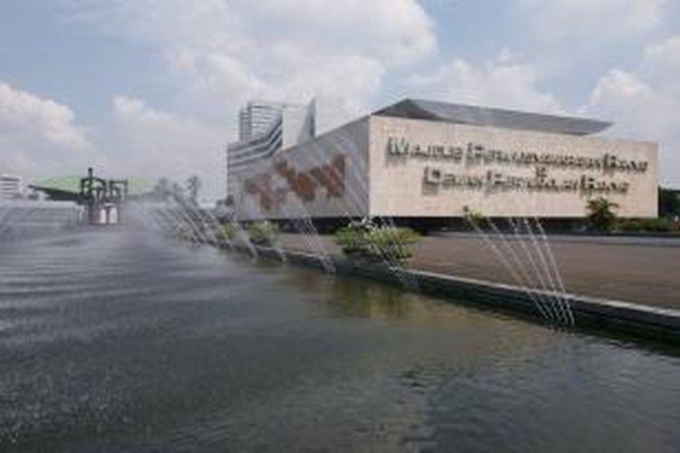 Suasana gedung DPR RI, Jakarta, Jumat (22/5/2009)