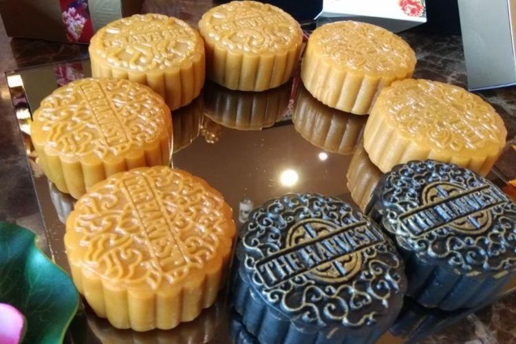 Empat varian rasa kue bulan dari The Harvest.