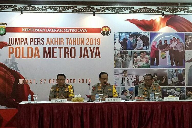 Kapolda Metro Jaya Komjen Pol Gatot Eddy Pramono mengatakan crime indeks 11 kasus kejahatan yang menonjoldi wilayah yurisdiksi Polda Metro Jaya mengalami penurunan dari tahun sebelumnya. Jika pada tahun 2018 berada pada angka 10.879, saat ini hanya mencapai 9.419.