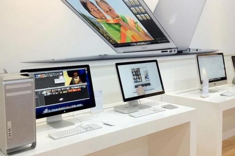 Komputer bersistem operasi Mac OS dari Apple
