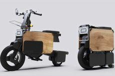 Tatamel Bike, Skuter Listrik Lipat Ala Motocompo