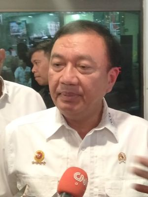 Kepala BIN, Budi Gunawan di RSPAD Gatot Subroto, Jakarta Pusat, Kamis (10/10/2019)