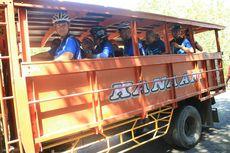 Jalan Rusak, Peserta Jelajah Sepeda Flores Dievakuasi Menuju Riung