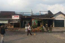 Kompor Gas Lupa Dimatikan, Lima Kios Terbakar di Ponorogo
